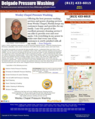 Wesley Chapel Pressure Washing