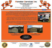 Monster Services Pressure Washing